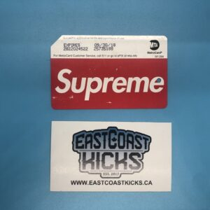 Supreme Metro Card