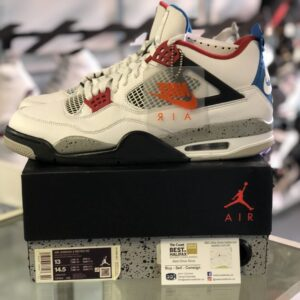 Preowned Jordan 4 What The Size 13