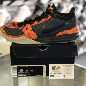 Preowned Kobe Mentality Orange Size 10