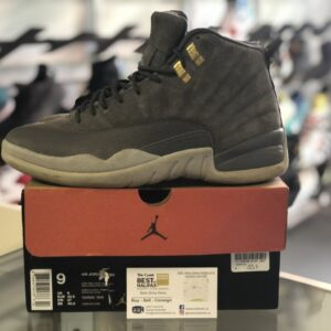 Preowned Jordan 12 Dark Grey Size 9