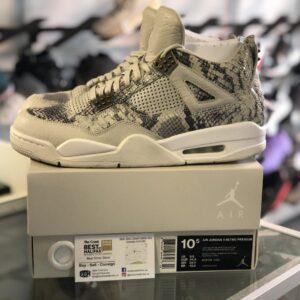 Preowned Jordan 4 Snakeskin Size 10.5