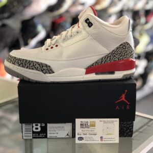 Jordan 3 Hall of Fame Katrina Size 8.5