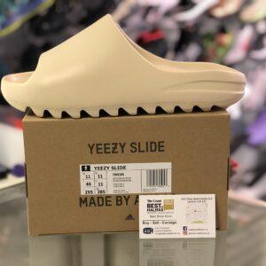 Adidas Yeezy Slides Bone Size 11