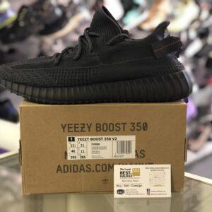 Adidas Yeezy 350 Static Black Size 11.5