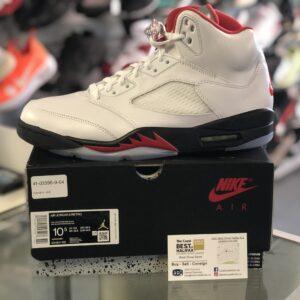 Jordan 5 Fire Red Size 10.5