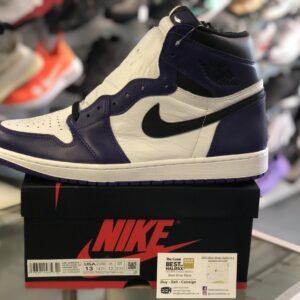 Jordan 1 Court Purple Size 13
