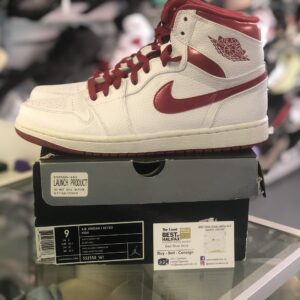 Preowned Jordan 1 Metallic Red 2009 Size 9