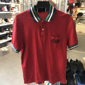 Preowned Gucci Polo Red Size XL