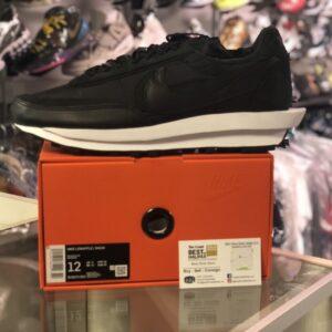 Nike Sacai Waffle Black Size 12