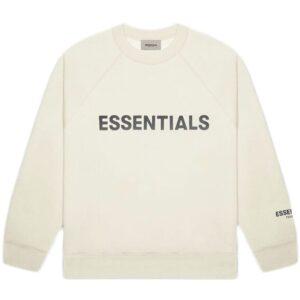 Fear of God Crewneck Sweatshirt Butter Cream Size XL