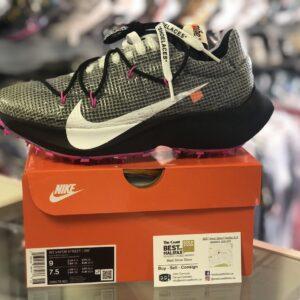 Nike OFF-WHITE Vapor Street Black Laser Fuchsia Size 9W (7.5M)