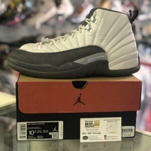 Preowned Jordan 12 Dark Grey Size 10.5