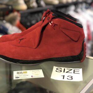 Preowned Jordan 18 Toro Size 13