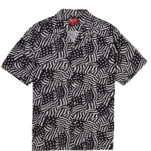 Supreme Flag Button-up Size M