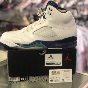 Jordan 5 Grape Size 10