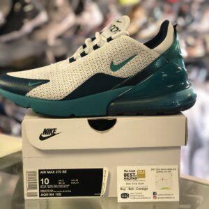 Nike Air Max 270 White Teal Size 10