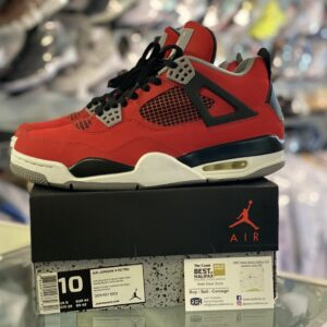 Preowned Jordan 4 Toro Size 10