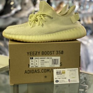 Preowned Adidas Yeezy 350 Butter Size 9.5