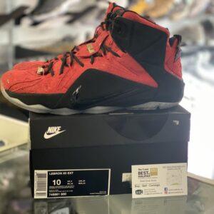 Preowned Nike Lebron 12 Size 10
