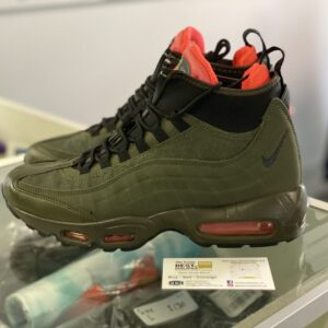 Preowned Nike Air Max 95 Sneakerboot Winterized Size 8