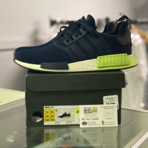 Preowned Adidas NMD R1 Navy Green Size 11