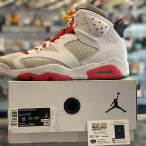 Preowned Jordan 6 Hare Size 11