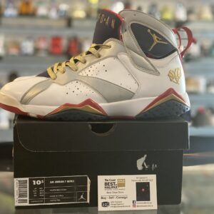 Preowned Jordan 7 For the Love of the Game Size 10.5
