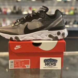 Nike React Element 87 Anthracite Black Size 10