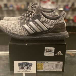 Preowned Adidas Ultra Boost Grey Black Size 10