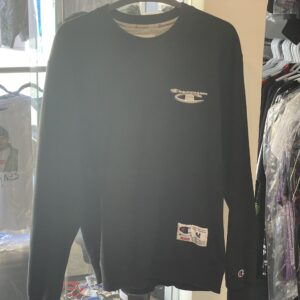 Champion x Supreme Long-Sleeve Tee Black Size M