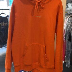 Supreme Hoodie Orange Size L