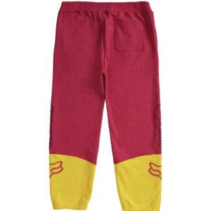 Supreme Fox Sweatpants Pink Yellow Size L