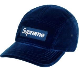 Supreme Velvet Cap Blue