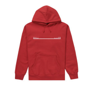 Supreme New York City Hoodie Red Size L