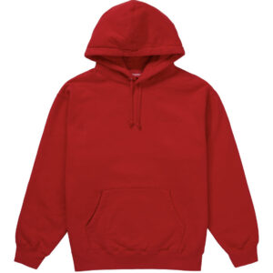Supreme Smurfs Hoodie Red Size L