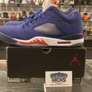 Preowned Jordan 5 Low Knicks Size 10.5