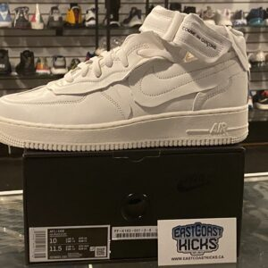 CDG Comme des Garcon Nike Air Force 1 Size 10
