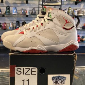 Preowned Jordan 7 Hare CDP 2008 Size 11