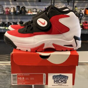 Preowned Nike Air Mission White Red Size 10.5