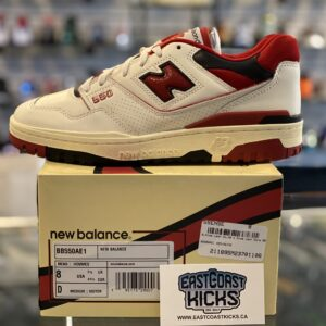 New Balance 550 Aime Leon More White Red Size 8