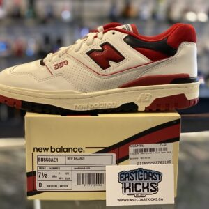 New Balance 550 Aime Leon More White Red Size 7.5