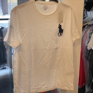 Polo Tee White Size L