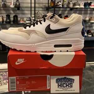 """Preowned Nike Air Max 1 """"87"""" Light Iron Size 9"""