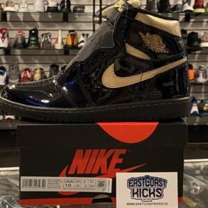 Jordan 1 High Black Metallic Size 10.5