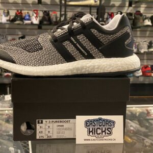 Adidas Y-3 Pure Boost White Black Size 9.5