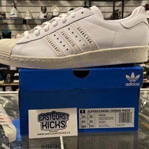 Adidas Superstar Human Made White Size 10.5