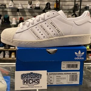 Adidas Superstar Human Made White Size 7Y