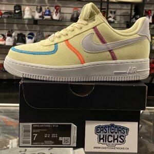 Nike Air Force 1 Canvas Size 7W/5.5Y
