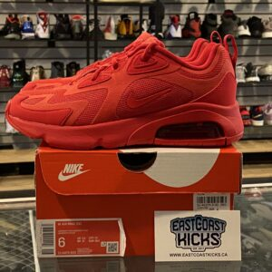 Preowned Nike Air Max Red Size 6W/4.5Y