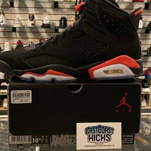 Jordan 6 Infrared Black Size 10.5